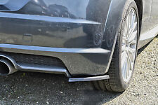 Heckansatz Diffusor Spoilerecken Seitenteile aus ABS für Audi TT 8S mit S-Line