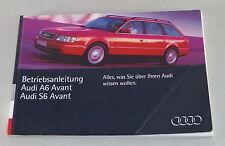 Betriebsanleitung Audi A6 C4 incl. Quattro + S6 von 1995