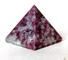 L'énergie reiki facturés la lépidolite CRYSTAL Guérison pyramide stabilisateur de humeur