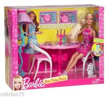 Barbie Glam Barbie Doll with Furniture - Glam Dining Room