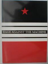 RAGE AGAINST THE MACHINE tour 2000 TOUR PROGRAMME - 24 pages RATM