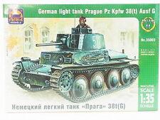Lot 12840   ARK 35003 German LIGHT SERBATOIO Prague PZ KPFW 1:35 KIT NUOVO IN SCATOLA ORIGINALE