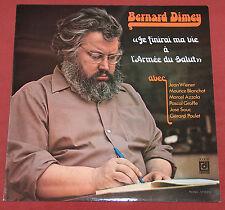 BERNARD DIMEY LP DEESSE JE FINIRAI MA VIE A L'ARMEE DU SALUT