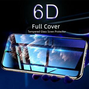 For iPhone 13 12 Pro Max/Mini Full Cover Tempered Glass Screen Protector Camera
