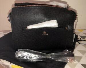 Mimco SUBLIME MIDI HIP BAG BLACK ROSE GOLD Shoulder Bag Authentic BNWT RRP249
