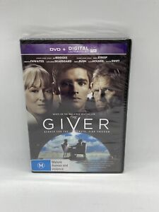 The Giver - Region 4 DVD NEW & SEALED