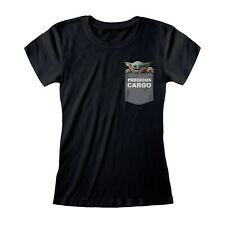 Star Wars The Mandalorian  Precious Cargo T Shirt Official The Child Baby Yoda