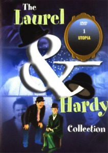 """Laurel And Hardy DVD """" Utopia and Robinson Crusoe Land """" COLLECTION 1 - RARE"""