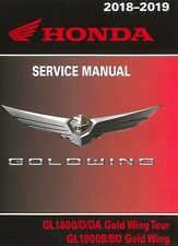 USB Flash Drive Honda Goldwing 1800 Gold Wing Tour 2018 2019 service manual