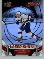 2019-20 Upper Deck MVP Hockey Laser Shots Red #S-2 Steven Stamkos Lightning
