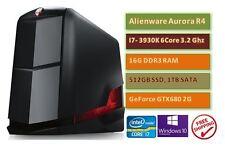 Dell Alienware Aurora R4 i7-3930K 3.2GHz 6Core 512GSSD 1TB SATA GTX680 2G Gaming