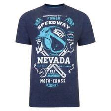 Camisetas de hombre azul talla XL color principal azul