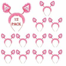 12 Hen Party Bopper Hen Night Party Pink Girls Night Out Fancy Dress Accessories