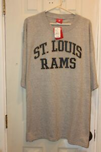 gray St. Louis Rams printed graphic t-shirt (NWT) - adult XXL / 2XL