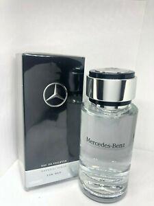 Mercedes-Benz Cologne For Men Perfume Eau De Toilette Spray 4 OZ 120 ML In Box.