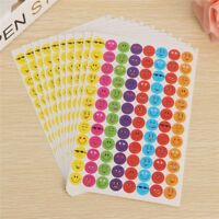 Teacher Smile Student 10 Sheets 960 Pcs Child Expression Cartoon Reward Sticker