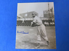 BUCK LEONARD SIGNED 8x10 PHOTO ~ HOF ~ NEGRO LEAGUE SUPER STAR ~