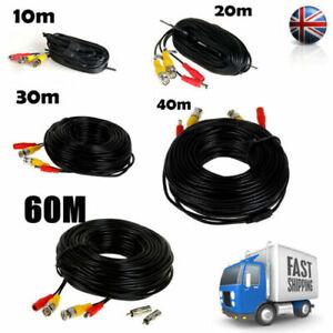 10M 20M 30M 40M 50M 60M CCTV DVR Camera Video Recorder Cable DC Power BNC Cable