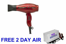 Power Twinturbo 3900 Light Ceramic Ionic Hair Dryer 2 Nozzles Red