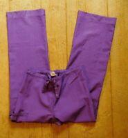 Wonderwink Scrub Pants / Size Small / Style #5414 / Purple 100% poly