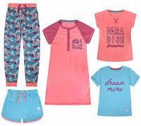 Girls Nightwear Pyjama Nightdress T-shirts Shorts Long Pants New Kids Pajama Set
