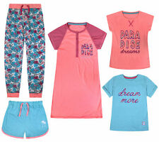 Girls Nightwear Pyjama Nightdress T-shirts Shorts Long Pants New Kids Pajama Set