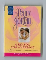 A Reason for Marriage - by Penny Jordan - MP3CD - Audiobook