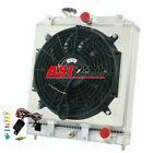 2 Row Radiator +Shroud Fan+Relay FOR 1992-2000 HONDA CIVIC/DEL SOL/INTEGRA MT