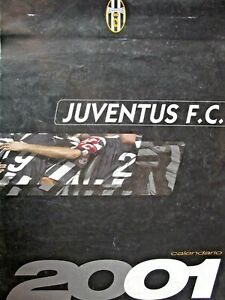 Cs2 - Calendario Foto Poster Juventus 2001