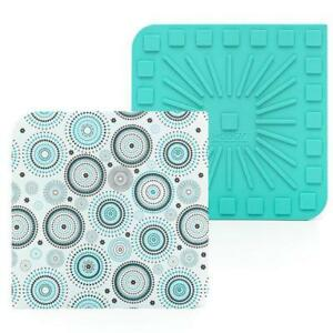 """Modgy Silicone 8"""" x 8"""" Trivet / Hot Pad - Soular"""