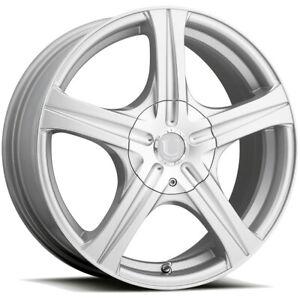 "Ultra 403S Slalom 17x7 5x112/5x120 +45mm Silver Wheel Rim 17"" Inch"