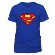 Superman Solid Basic Tees Cotton T-Shirts for Men