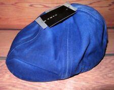 9a7bb851c86 MENS ZARA CABBIE NEWSBOY ROYAL BLUE HAT CAP ONE SIZE
