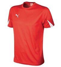 Herren Neu Puma Geschwindigkeit Training, Sport Fußball T-Shirt Top - Rot