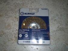 """Kobalt 4"""" Wire Wheel Brush Straight 1/4"""" Shank NIP  #323653 Free Shipping!"""