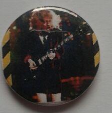 AC/DC Pin Badge Button #2 Hard Rock Memorabilia