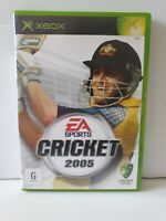 Xbox Cricket 2005 Inc Manual