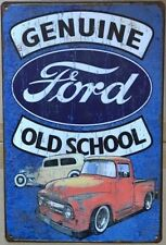 FORD Rustic Look Vintage Tin Metal Sign Man Cave, Shed-Garage & Bar Sign