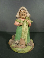 Vintage Tom Clark Gnome Sally Figurine Signed 1991 #20 Signed in Ink by Tom