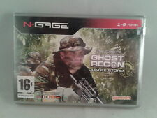 NOKIA N-GAGE TOM CLANCY´S GHOST RECON JUNGLE STORM NUEVO SELLADO NEW SEALED  PAL