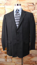 Mens Pront Uomo Blazer Size 42 R 2 Btn Gray  Super Wool  Made in Italy(98)