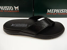 5359568cbb253 Mephisto Mens Charly Black Size EU 46 (us-12)