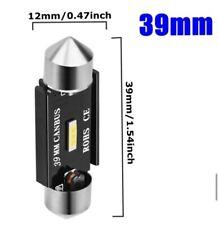 2  BOMBILLAS  LED CAN BUS 39MM C5W ,MATRICULA,FESTOOM,PLAFONIER.SIN HYPER FLASH