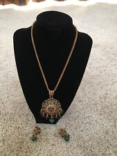 Necklace Ear Ring Set