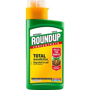 Roundup 116972 Optima+ Total Weedkiller 540ml