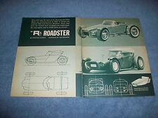 1963 Rod & Custom Roadster 1/25-Scale Vintage Model Car Article