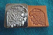 "Leather Tools/*Vtg* Craftool Co Usa 1"" Stamp*#8361 Eagle Head Lt* ( Y-18 )"