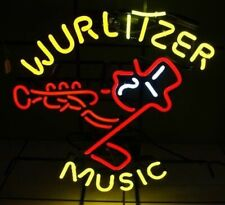 New Wurlitzer Music Johnny Cola Ford Car Neon Light Sign  One Note Beer Bar