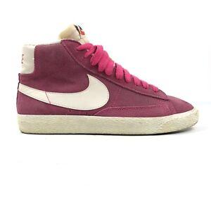 2013 Nike Blazer Trainers UK Size 4 Pink