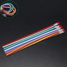 5pcs Colorful Novelty Magic Flexible Bendy Soft Pencil for Kids Gift